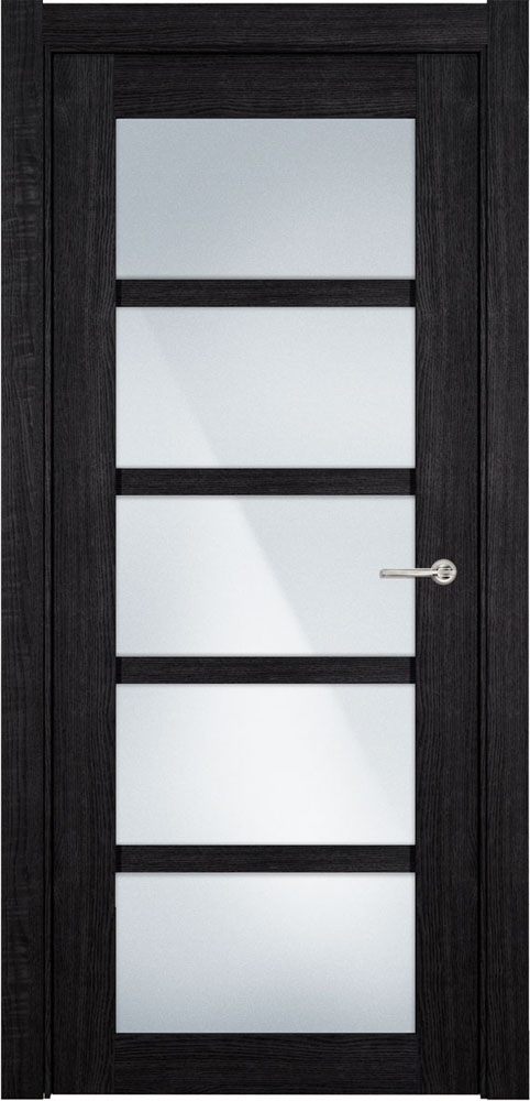 Дверь Status Optima 122 венге пепельный стекло матовое