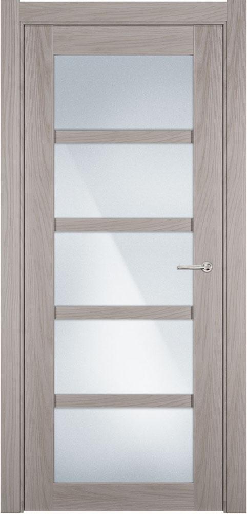 Дверь Status Optima 122 ясень стекло матовое